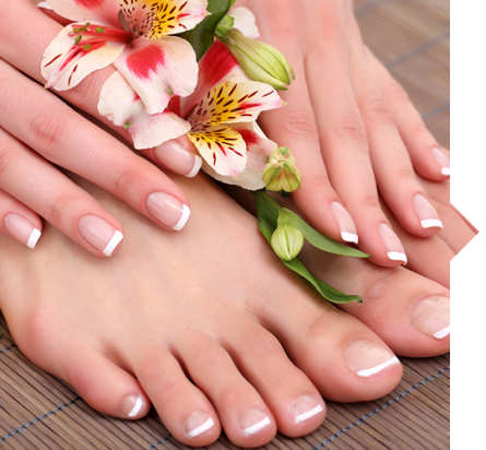 SPA manicure and pedicure in Wellness Center, Javea